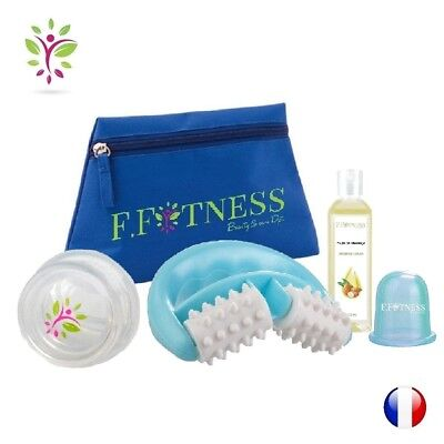 rouleau anti cellulite FIT ROLL BLEU massage Traitement minceur peau d'orange