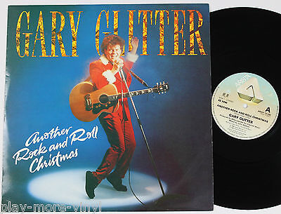 """GARY GLITTERAnother Rock And Roll Christmas 12"""" vinyl UK 1984  plays NM!"""
