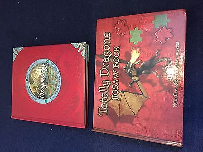 Dragonology The Complete Book of Dragons Ology Series & PUZZLE BOOK