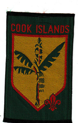 Boy Scout Badge obsolete COOK ISLANDS
