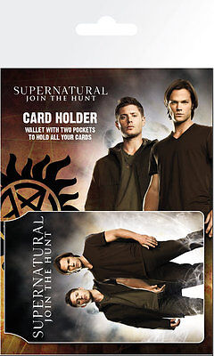 SUPERNATURAL - Saving People - CARD HOLDER NEW CARDED BAGGED Official