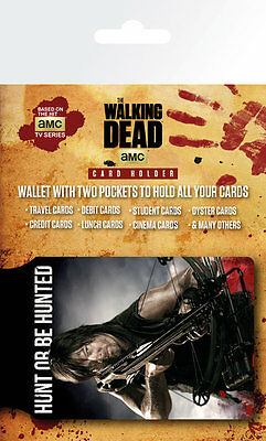 THE WALKING DEAD - Daryl - CARD HOLDER NEW CARDED BAGGED Official Merchandise