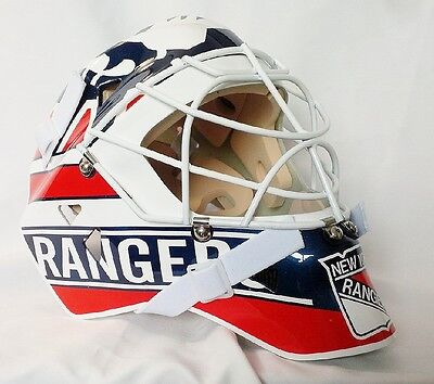 Mike Richter Rangers Goalie Mask Hockey Helmet Nhl Replica Full Size Adult