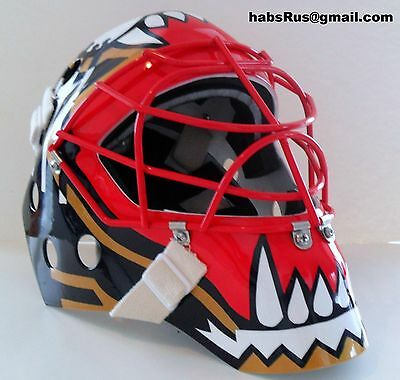 John Vanviesbrouck Panthers Goalie Mask Hockey Helmet Nhl Replica Full Size