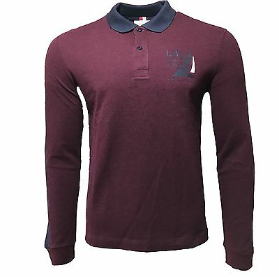 Lacoste Sport Mens Long Sleeve Polo PH3019
