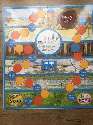 Let's Play We're Going On A Bear Hunt Game Characters Board & Cards Spinner Book
