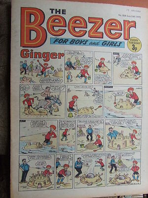 Beezer Comic No 858 (1972). See listing for much lower combined postage costs.