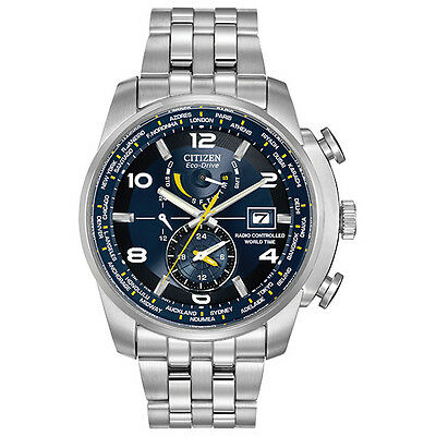 Citizen Men's World Time A.T Eco-Drive Watch AT9010-52L