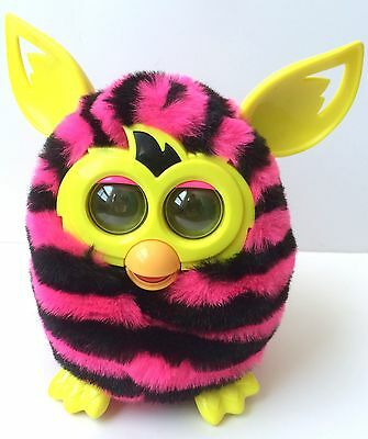 Furby Hasbro 2012 Pink & Black Tested And Working!