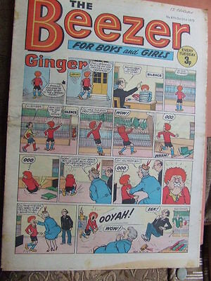 Beezer Comic No 875 (1972). See listing for much lower combined postage costs.