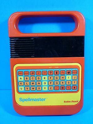 Vintage Radio Shack Spellmaster French Version Electronic Toy Français