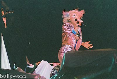 Dale Bozzio Missing Persons In Concert Four Color Negatives 35Mm 1982 New Years