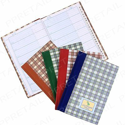 Telephone & Address Book+A-Z INDEX WITH E-MAIL+Records Index Directory Organiser