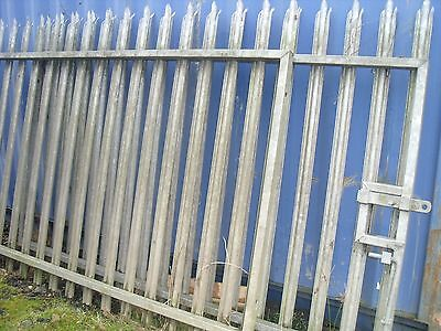 6Ft Palisade Security Gates 16 Ft Wide & Posts