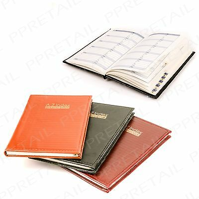 "7.5""x5"" A-Z HARDBACK Name & Address Book Phone Number Organiser Index Home Diary"