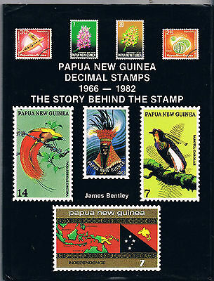 Papau New Guinea Decimal Stamps 1966-1982 Story Behind The Stamps James Bentley