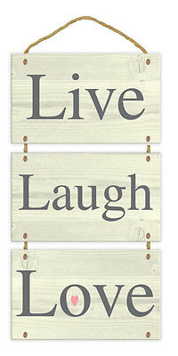 Hanging Wall Plaque Man Cave Rules Family Love Wind Chimes Decor - 12 Designs