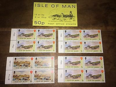 Isle Of Man SB7 1974 St Michaels Chapel 50p Book Of Unused Mint Stamps