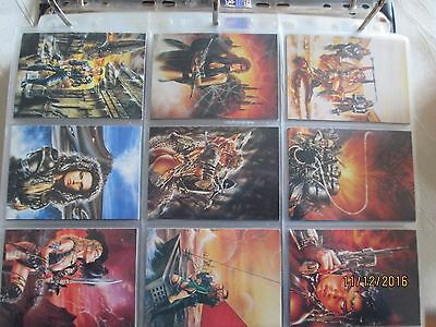 Complete Luis Royo 1 Trading Cards With All Insert Cards