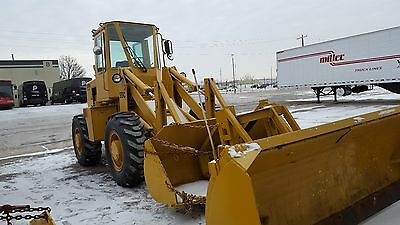 1980 Clark 35 C Wheel Loader W/10 Ft. Snow Pusher & 2 Yard Bucket  *** Video ***