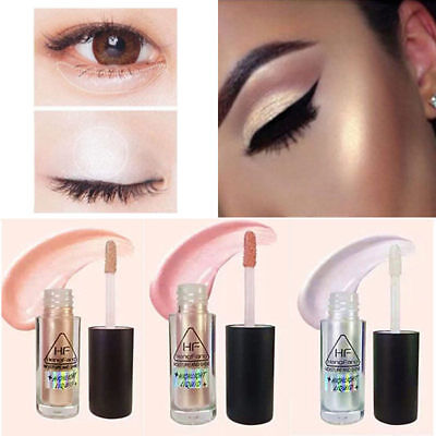 Makeup Gold Highlighter Liquid Cosmetic Face Contour Brightener Glow Shimmer