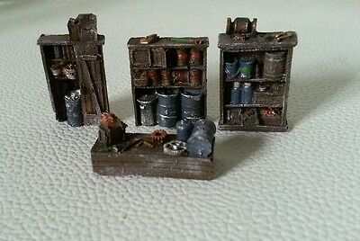 High detailed resin casting furniture By R&M suit HO gauge