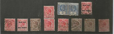 Gold Coast King George V Low Value Used Definitives My Ref 453