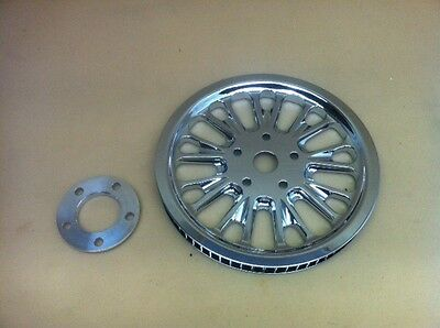 Harley Davidson Softail Pulley Performance Machine 66 teeth 20mm Domino  Chrome