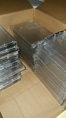 Alpha Security Cases lot of 50 DVD and Game size! (Lot 7/30)
