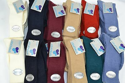 Vtg 1970's Lot of 60 prs NOMELLE Orlon Cashmere SOFT Ladies Socks Assorted - NEW