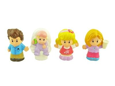 New Fisher Price Little People Happy Sound Home Mom Baby Dad Sister Figures
