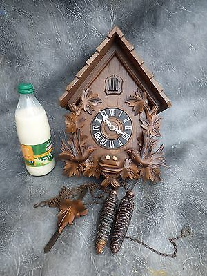 A Good Quality Cuckoo Clock With Regula Movement Muster Ges Gesschutzt,re Oiled