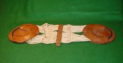 Rare Us Cavalry Cinch For The 1917 Packer Saddle
