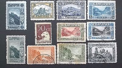 Bulgaria ...1917-1931 stamp issues, mint, light hinged