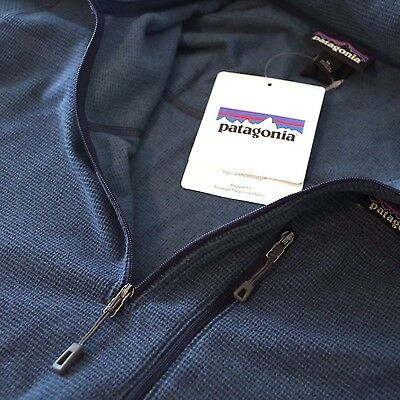 Patagonia Men's Oakes 1/4-Zip Fleece Sweater 2016 - Glass Blue - L / Large