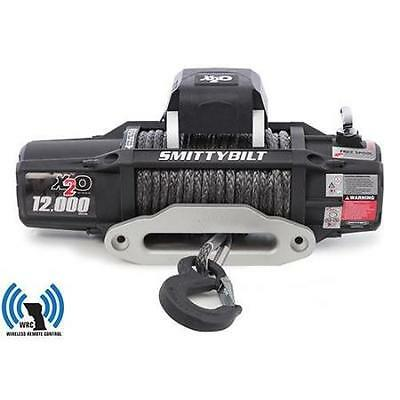 X2O Smittybilt 12 Comp Gen2 12,000 lb Winch Synthetic Rope fits Jeep Truck 98512