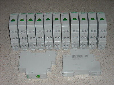 Schieder Electric 12 to 48V AC DC green din rail indicator 13 off