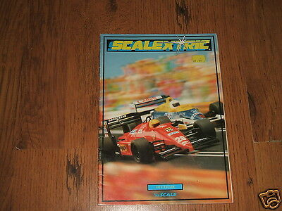 Scalextric catalogue,30th.edition,1989 - Knight Rider,SRS Peugeot 205,Ford RS200