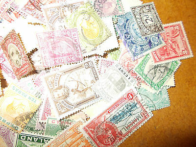 100+ pre 1952 COMMON/WEALTH STAMPS - only 99p start !,