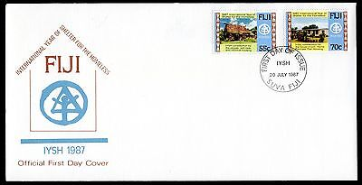 Fiji 1987 FDC International Year of Shelter for the Homeless