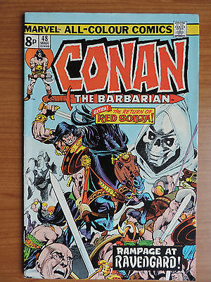 Conan The Barbarian # 48 (F 6.0)
