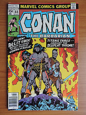 Conan The Barbarian # 88 (F+ 6.5) Zula Belit Cents
