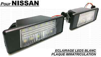 Nissan Pathfinder Led Leds Plaque Immatriculation Eclairage Blanc Xenon Ampoules