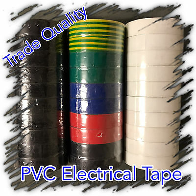 BULK BUY PVC Electrical Tape 10pk - 20pk - 30pk