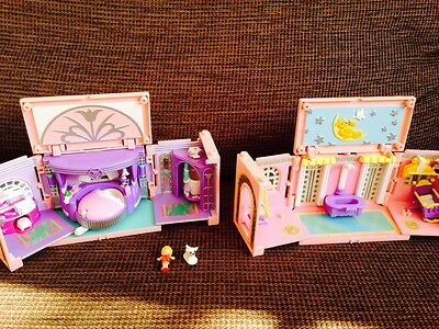 2 polly pocket nursery and master bedroom