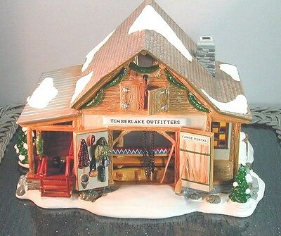 "Vintage Snow Village ""timberlake Outfitters"" D56 55054  Retired"