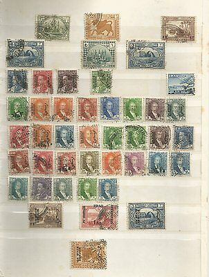 Iraq Used Stamps From On Stock Card
