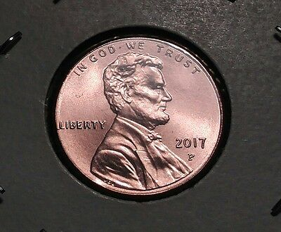 2017 P Lincoln Penny, BU 1c (Lot of 1) Ready to Ship!