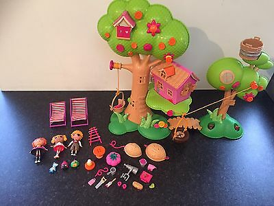 Lalaloopsy Treehouse, Dolls & Accessories - Ex Condition