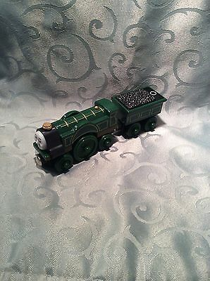 Thomas & Friends Wooden Train - Emily & Tender - Used
